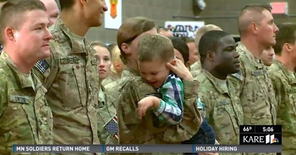 This 3-Year-Old Boy Didn't Care About Military Protocol: He Just Wanted To Hug His Mom
